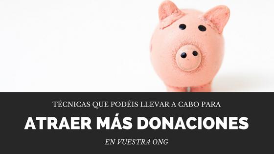 Captar más donaciones ONG online y Tercer Sector