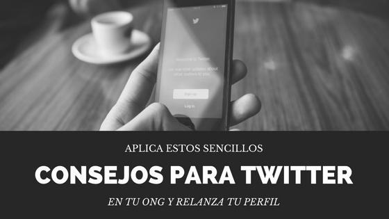Consejos publicar en Twitter para ONG