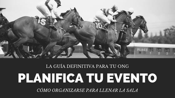 Planificar un evento en ONG