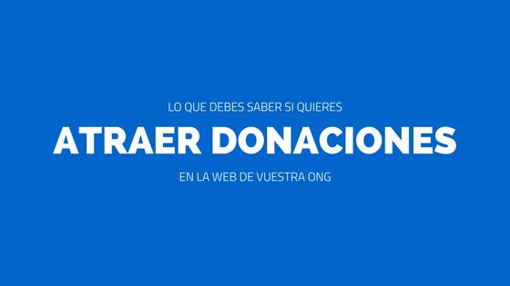 Captar donaciones online ong
