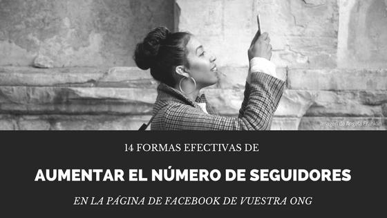 Seguidores Facebook Tercer Sector ONG ONL