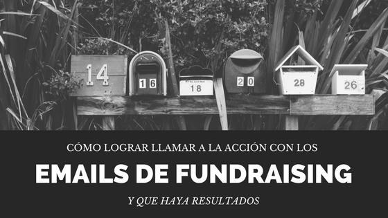 Emails de Fundraising