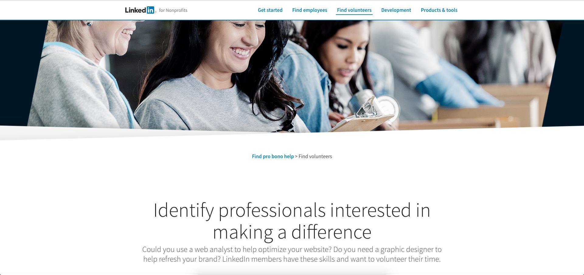 LinkedIn para ONG Tercer Sector