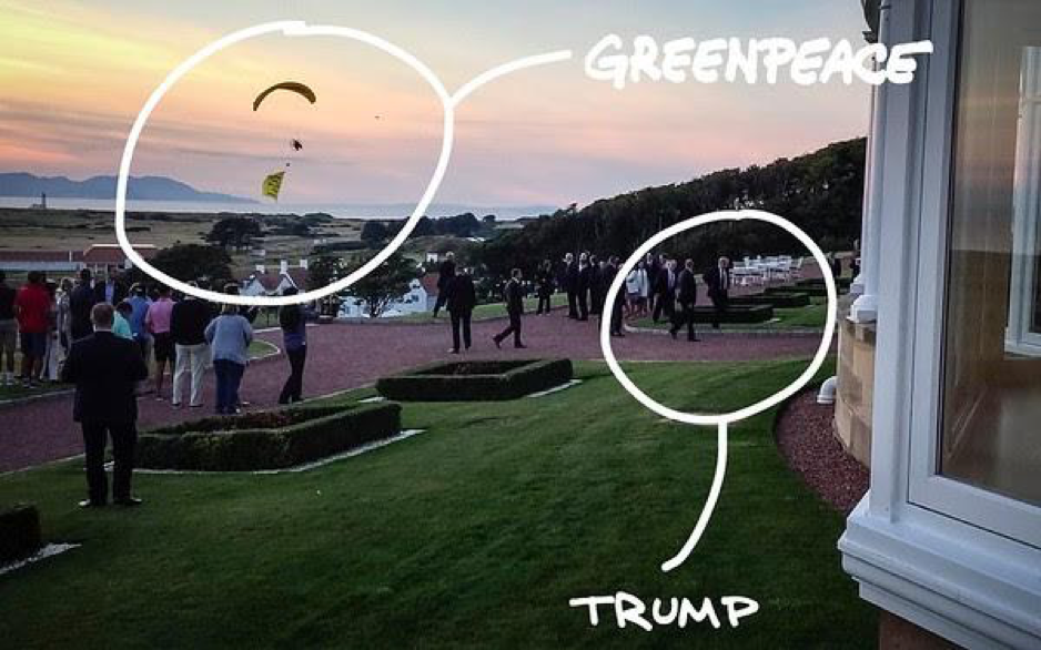 Trump Vs Europa - Newsletter GreenPeace